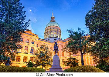 ジョージアの国家, 国会議事堂