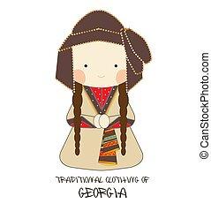 ジョージア, 伝統的な衣類, chokha