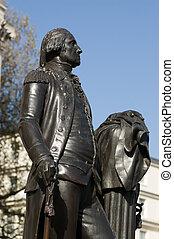 ジョージ・ワシントン彫像, ロンドン