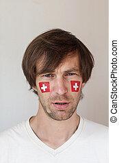 スイス人, 混乱, ファン, スポーツ