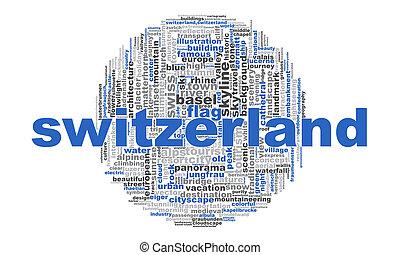 スイス, 単語, 雲