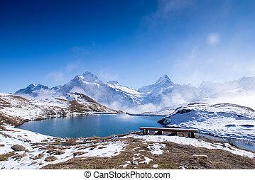 スイス, 山, grindelwald, 最初に