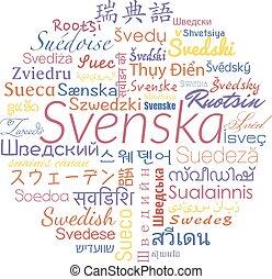 スウェーデン語, ベクトル, コラージュ