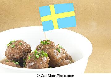 スウェーデン語, ミートボール
