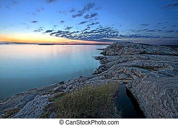 スウェーデン語, 海岸