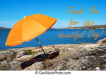 スウェーデン語, 美しい, 感謝しなさい, これ, 海岸, あなた, 日