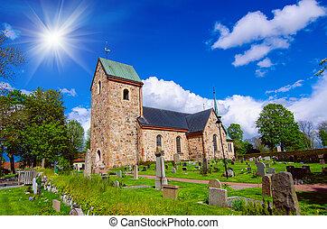 スウェーデン, 古い教会