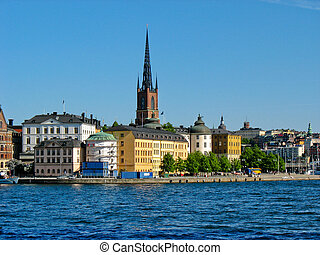 スウェーデン, gamla stan, ストックホルム
