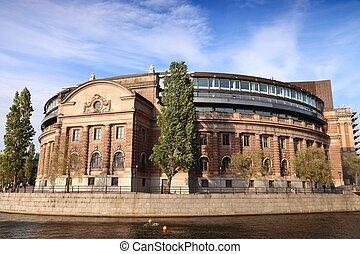 スウェーデン, riksdag