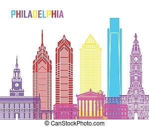 スカイライン, フィラデルフィア, ポンとはじけなさい