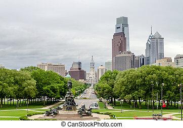 スカイライン, フィラデルフィア