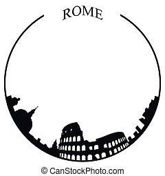 スカイライン, ローマ, 隔離された