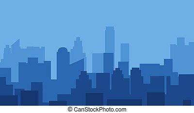 スカイライン, 現代, 都市