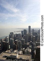 スカイライン, 航空写真, シカゴ