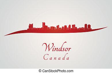 スカイライン, windsor 赤