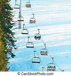 スキー, lfit, 人々