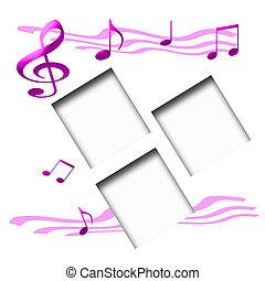 スクラップブック, 音楽愛好家