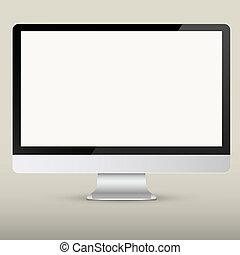 スクリーン, ベクトル, コンピュータ, 空
