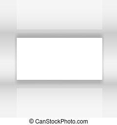 スクリーン, ベクトル, 抽象的, イラスト, 白