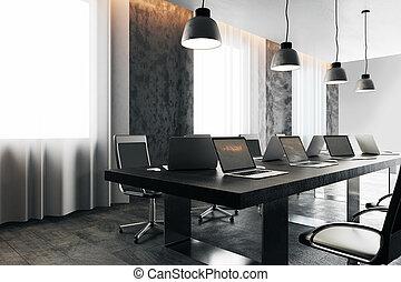 スクリーン, ライト, 装置, ミーティング部屋