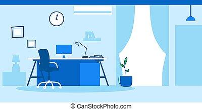 スケッチ, オフィスの人々, いたずら書き, 現代, キャビネット, いいえ, 内部, 横, 創造的, 空, 仕事場