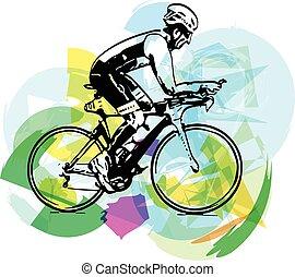 スケッチ, マレ, 自転車
