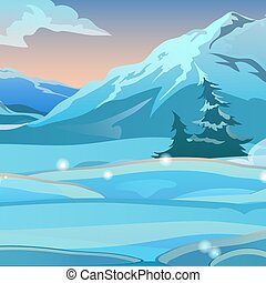 スケッチ, 曲がった, 2, 凍りつくほどである, 年, トウヒ, morning., カード, 雪が多い, 雪, 日の出, パーティー, クリスマス, お祝い, ポスター, 背景, 新しい, illustration., ゆとり, invitations., ベクトル, 山。, ∥あるいは∥