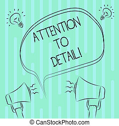 スケッチ, 概念, テキスト, 考え, ブランク, freehand, thoroughness, 執筆, スピーチ, メガホン, 泡, 目的を達しなさい, 正確さ, 能力, ビジネス, 注意, 音, 仕事, 単語, アウトライン, detail., icon.