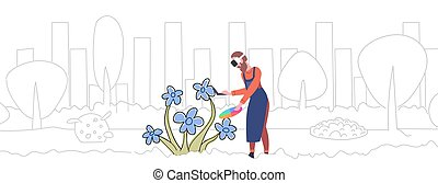 スケッチ, 概念, 色, によって, 技術, ヘッドホン, パレット, 花, いたずら書き, バーチャルリアリティ, 保有物, 3d, 身に着けていること, フルである, コントローラー, 横, 画家, 人, 経験, 長さ, augmented, 図画, ガラス