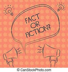 スケッチ, 虚偽である, 写真, 考え, 何か, freehand, もし, 本当, 執筆, メモ, 疑い, スピーチ, メガホン, 泡, 実質, ビジネス, 提示, それ, 正しい, fiction., アウトライン, showcasing, icon., ∥あるいは∥, 事実