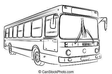 スケッチ, bus.