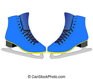 スケーター, フィギュアスケートする