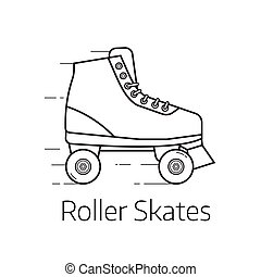 スケート, ローラー, アイコン