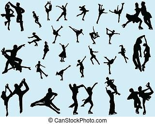 スケート, 人々