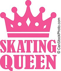スケート, 女王