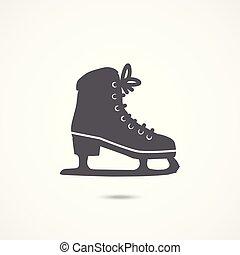 スケート, 氷, アイコン