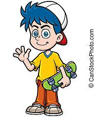 スケート, 男の子