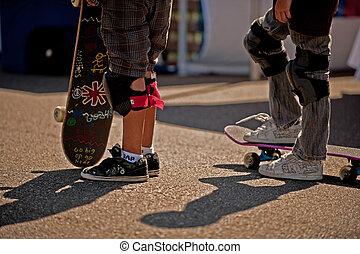 スケート, boarders