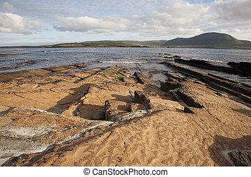 スコットランド, stromness, 見られた, graemsay, 島, orkney 島, hoy