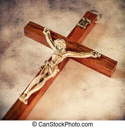 スタイル, キリスト, 型, とがめ立てられた, イエス・キリスト, 交差点