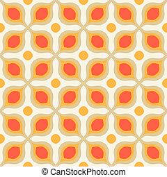 スタイル, ボールド体, パターン, 形, 1970s, 幾何学的