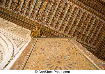 スタイル, 内部, モロッコ