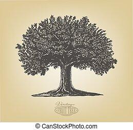 スタイル, 彫版, 木