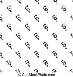 スタイル, 指すこと, 単純である, パターン, カーソル, 矢