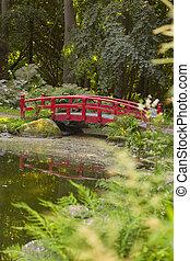 スタイル, 日本の庭, 橋