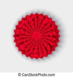 スタイル, 東洋人, origami, 花, 中国語, アジア人