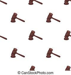 スタイル, 株, criminal., シンボル, 木製である, hammer., 裁判官, アイコン, 評決, ベクトル, deducing, ハンマー, 漫画, 単一, illustration., 刑務所