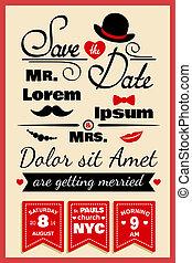 スタイル, 結婚式, 情報通, カード, 招待