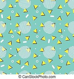スタイル, 芸術, パターン, seamless, ポンとはじけなさい, 幾何学的