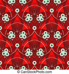 スタイル, deco, 芸術, パターン, モチーフ, 幾何学的